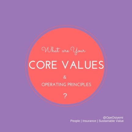 Core Values Ques